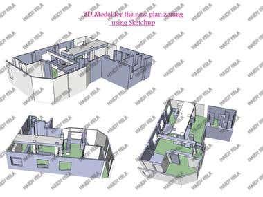 3D Design Using Google Sketchup