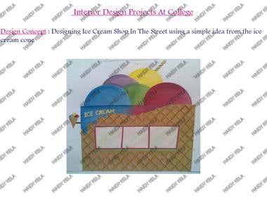 Ice Cream Shop Design