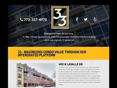 Email Design for 33realty.com