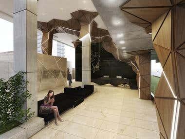 Lobby Design // Quito