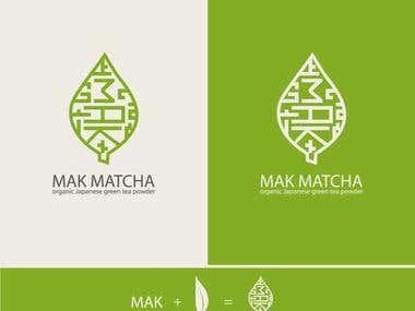 MAK MATCHA logo