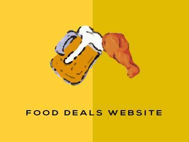 Food Deals Website