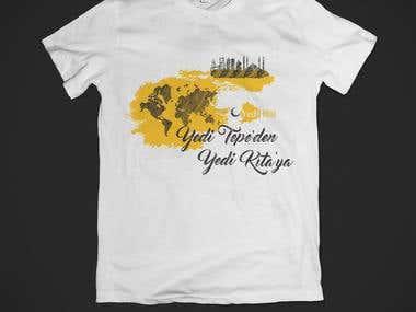 YediHilal T-shirt design