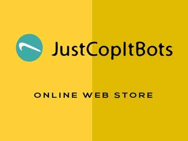 Online Store Website and Blog