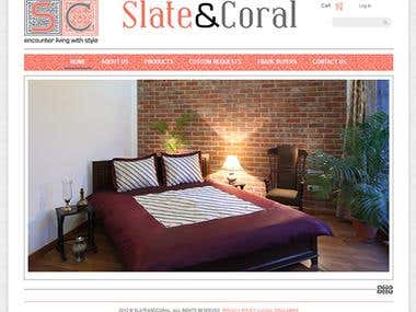 Slate And Coral