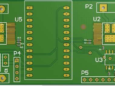 BLDC driver design with MCU on Board (Altium)