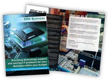 Brochure desnging