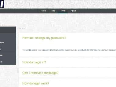 Online College Portal