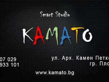 Business cards for Smart Studio Kamato