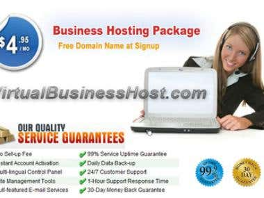 virtual businesshost web display add