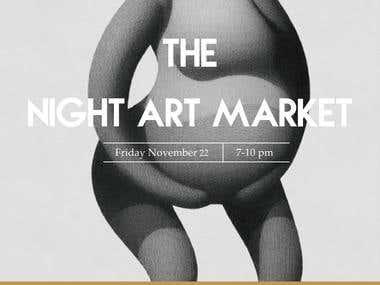 The Night Market Poster Design