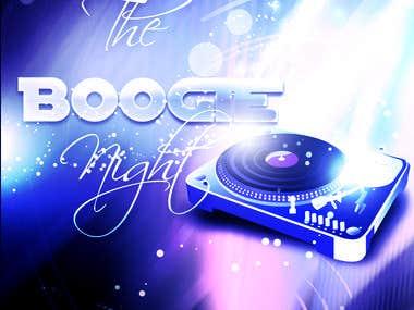 Poster i made for Disco Company