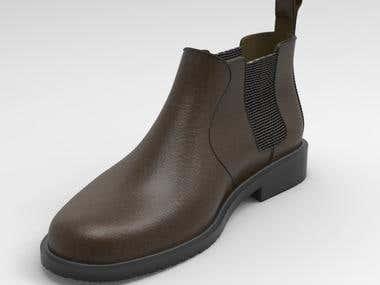 Modelling 3D Shoes