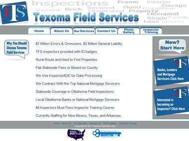 Texoma Field Services Website
