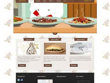 Najmat Alfalah Restaurant Website