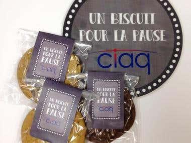 Emballage de biscuits