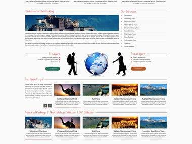 Tibet Holidays Pvt Ltd Website