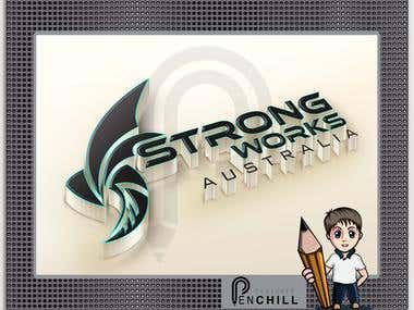 logo for strong works