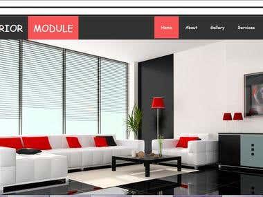Interior Website