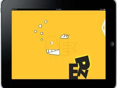 iPad digital book