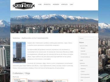 Creación Sitio Web Empresa Internacional de Construcción