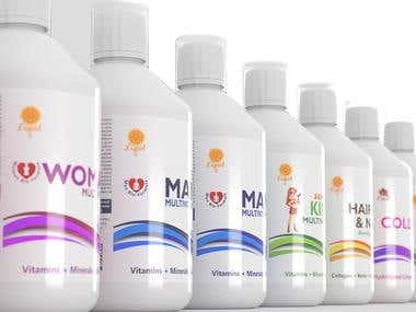 Vitamine bottles