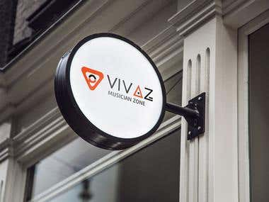 Vivaz logo template