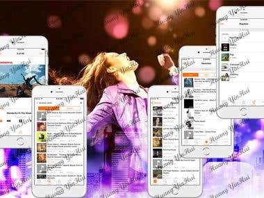 Mp3 Player Streaming & Playlist Manager & Str