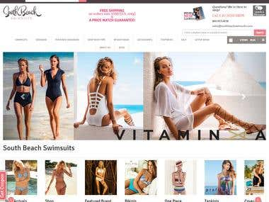 Swim Suits Website - Magento