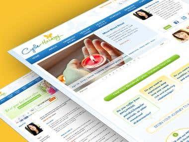 Responsive Jomsocial Joomla Website.