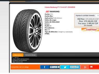 Llantasonline.com.co - Tires Store