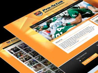 Sports and Entertainment site