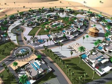 Dubai resort