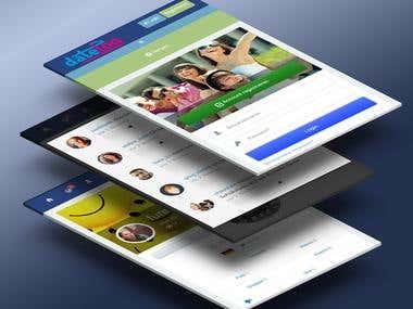Datelog Social Network Android App.