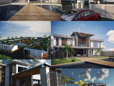 Contemporary homes architectural design
