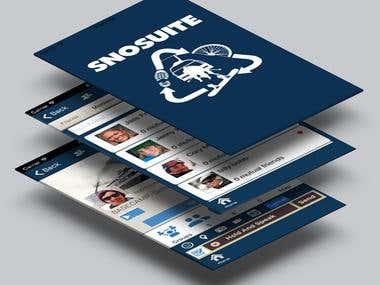 Snosuite iPhone App.