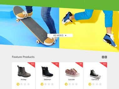 Ecommerce web site development (Woo Commerce)