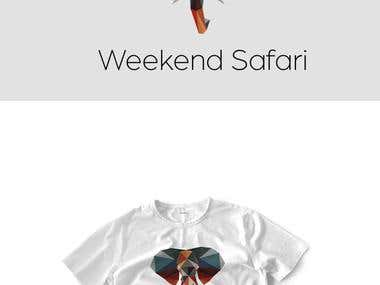 Logo for Weekend Safari