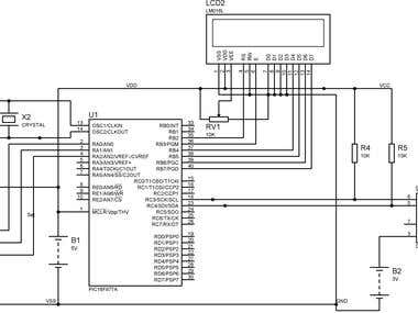 Digital Clock using PIC Microcontroller, DS1307