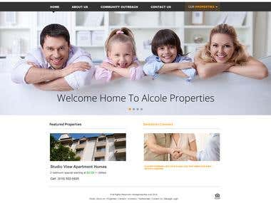 Alcole Properties site