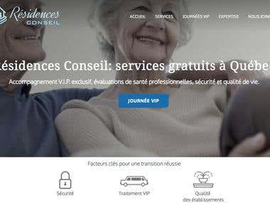 Website - Residencesconseil.com