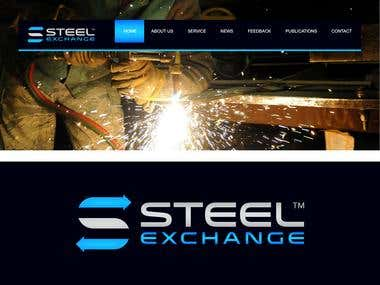 Steel Exchange. Empresa E commerce de acero. Enfoque B2B.