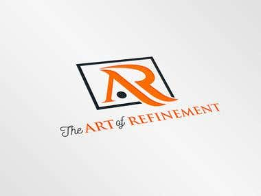 Best design using our website name. Art of Refinement
