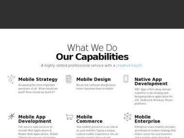 Abcapps website