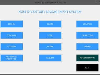 NUST Inventory Management System