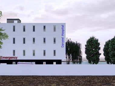 Exterior Elevation Render