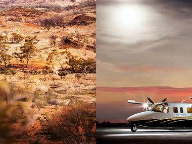 Flinders Ranges Outback South Australi & GAM Air