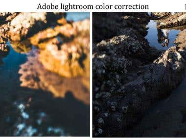 lightroom color correction