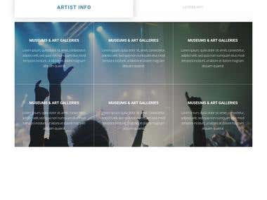 Developing musical portal