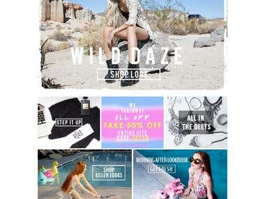PSD to Shopify Template